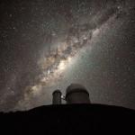 Observatorio de La Silla, Chile, con el telescopio ESO3.6m