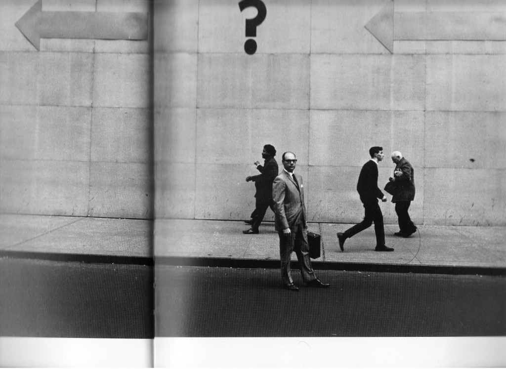 Lee Friedlander. New York City. 1962.