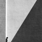 Fan Ho. Approaching shadow. 1954