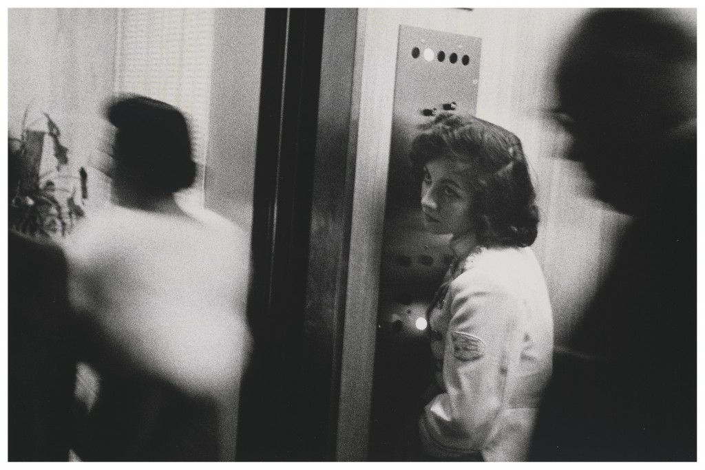 Robert Frank. 1955. Elevator, Miami Beach