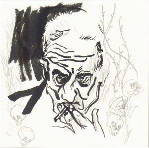 Retrato del poeta por